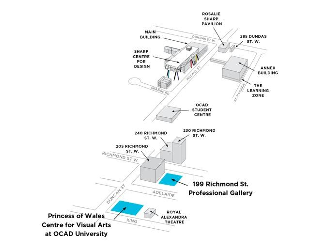 OCAD University  at Mirvish+Gehry Toronto